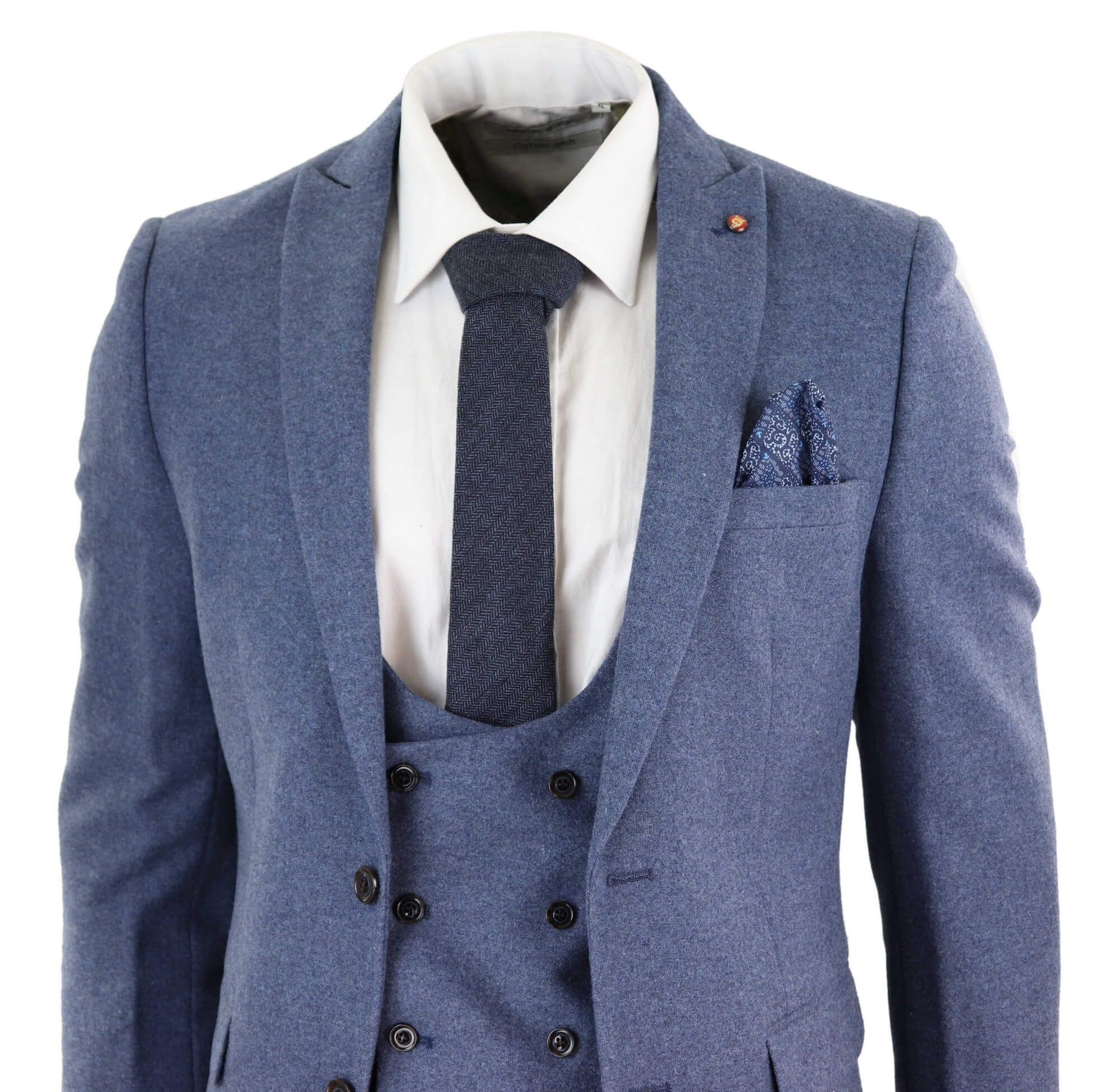 HARRY BROWN Mens Blazer Tailored Fit Wool Blend