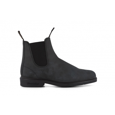 Blundstone 1308 Rustic Black Leather Chiesel Toe Chelsea Boot