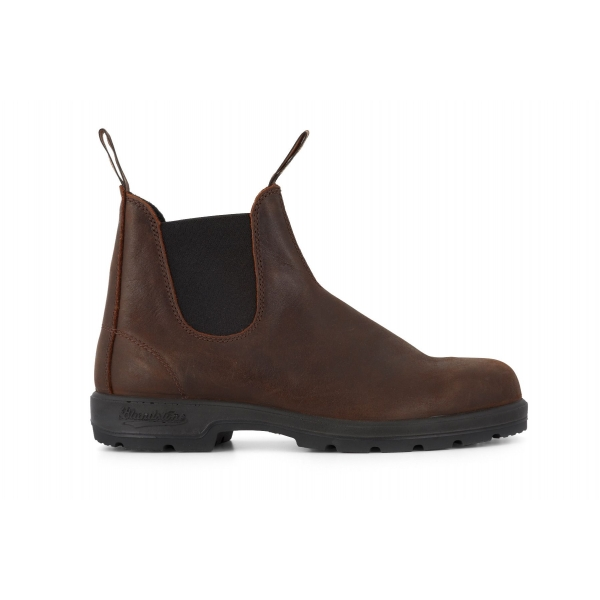 Blundstone 1609 Antique Brown Leather Chelsea Ankle Boot