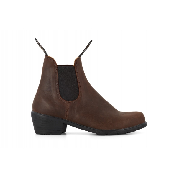 Blundstone 1673 Antique Brown Leather Chelsea Boots