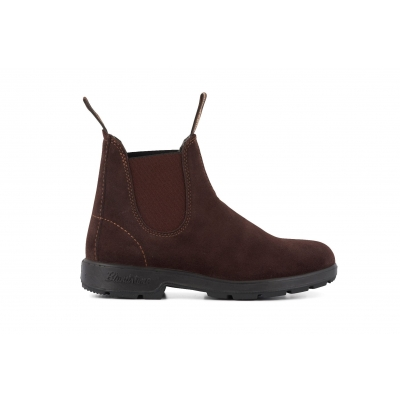 Blundstone 1458 Brown Suede Chelsea Boots