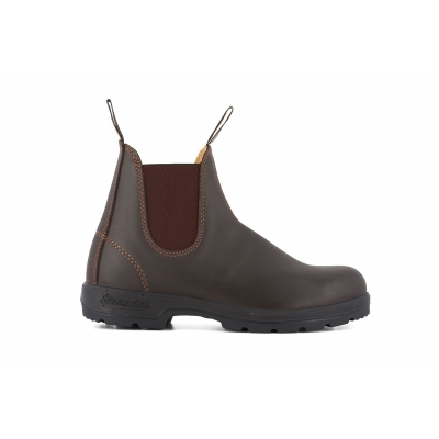 Blundstone 550 Walnut Brown Leather Australian Chelsea Ankle Boots