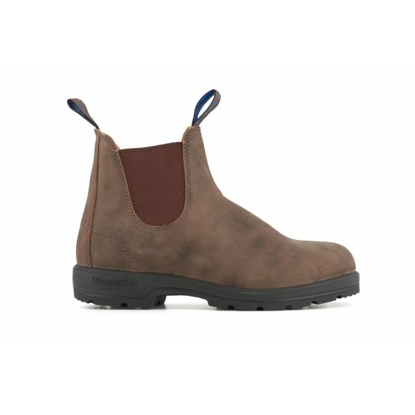 Blundstone 584 Rustic Brown Waterproof Thermal Leather Chelsea Ankle Boot
