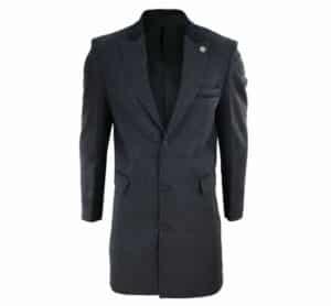 Premium Herringbone Tweed Peaky Blinders Overcoat - Happy Gentleman
